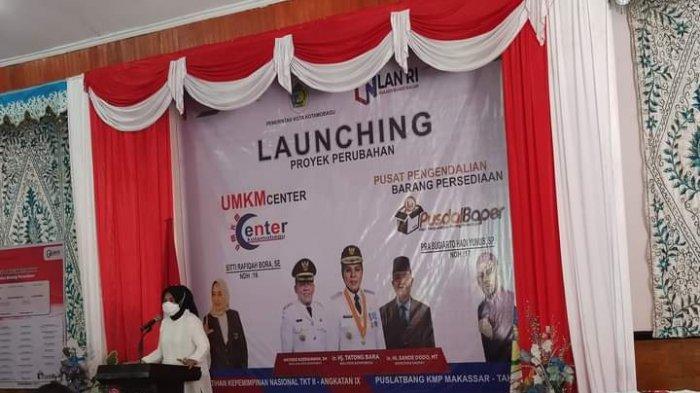 Wali Kota Tatong Bara Resmikan UMKM Center Kotamobagu