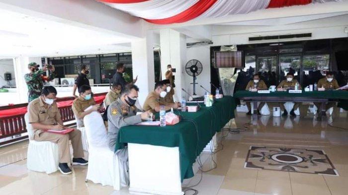 PPKM Masih Formalitas, Wali Kota Manado Andrei Angouw Janji Bangun Posko