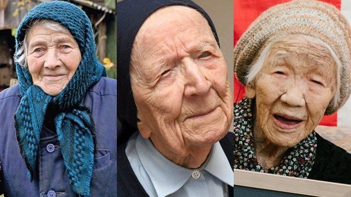 9 Wanita di Dunia dengan Umur Terpanjang, di Atas 100 Tahun, Paling Banyak Ada di Negeri Sakura