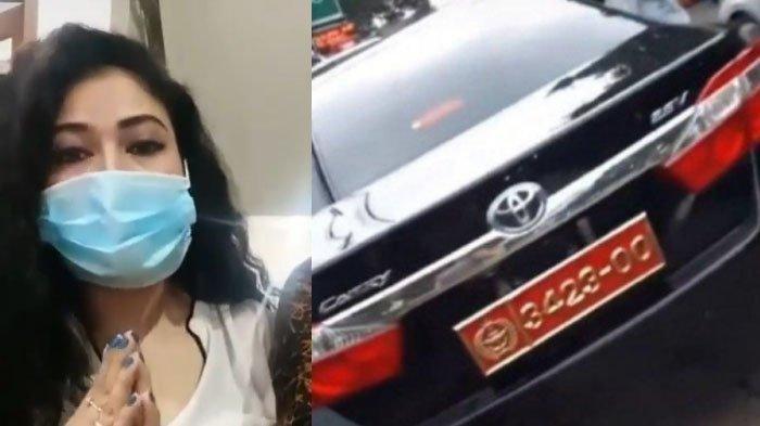 Masih Ingat Wanita Cantik yang Pamer Mobil Berplat Nomor TNI Palsu? Kini Ditangkap, Ini Pengakuannya