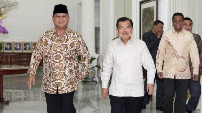 Ini Imbauan Jusuf Kalla kepada Massa Prabowo