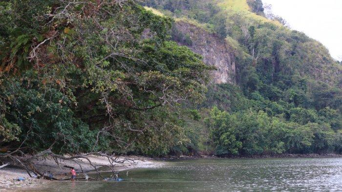 BERITA FOTO: Objek Wisata Pantai Kinunang Likupang Minahasa Utara