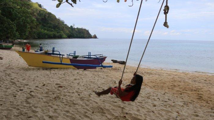Usai Dikunjungi Wamendag Pantai Kinunang Minahasa Utara Kini Populer, Pengunjung Penasaran