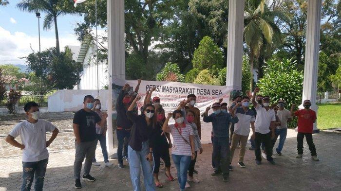 Minta Ketua DPRD Minahasa Tinjau Lokasi, Warga Desa Sea Tetap Tolak Pembangunan Perumahan
