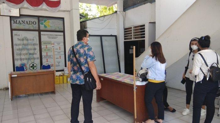 Vaksinasi Tidak Dilakukan di Dinkes Manado, Karyawan Ini Sayangkan Waktunya Terbuang Sia-sia