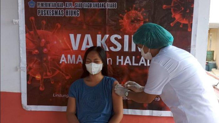 Banyak Warga Sitaro Takut Ikuti Vaksinasi Covid 19 Dosis ke Dua