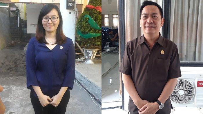 Warga Idolakan Carol dan Geby Jadi Pasangan di Pilwako Tomohon