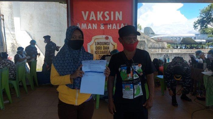 Kisah Rani, Tunawicara yang Ikut Vaksinasi Covid 19 di Monumen Trikora Bitung