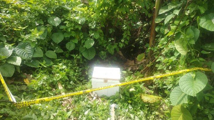 BREAKING NEWS Warga Malalayang Manado Temukan Jenazah Bayi di Coolbox