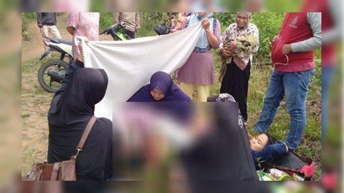 Wanita 28 Tahun Mulas Diantar Suami ke Poskesdes, di Tengah Jalan Tak Tahan, Rebahan di Rerumputan