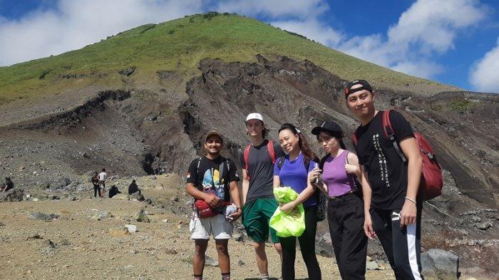 Indahnya Puncak Gunung Lokon Tomohon, Jadi Daya Tarik saat Liburan di Masa PPKM