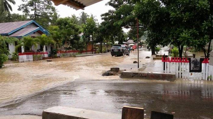 Sungai Kembali Meluap, BPBD Bolsel Tetapkan Status Peringatan Dini Waspada Banjir