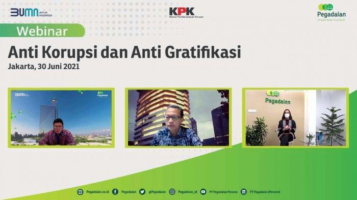 Pegadaian Kampanyekan Anti Korupsi Gratifikasi ke Karyawan, Mitra Kerja dan Nasabah
