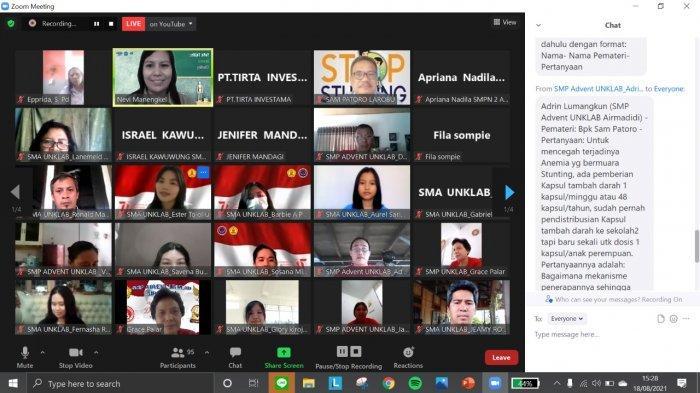 Minahasa Utara Masih Dihantui Kasus Stunting, Penanganan Dimulai dari Kalangan Remaja Perempuan