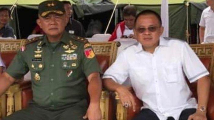 Wenny Lumentut Ucapkan Selamat ke Letjen TNI Ganip Warsito: Orangnya Mantap dan Pekerja Keras
