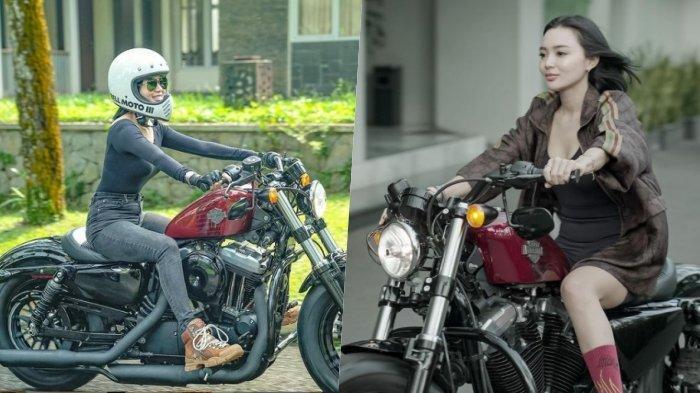 Punya Harley Davidson, Wika Salim Beri Nama Ini pada Motornya