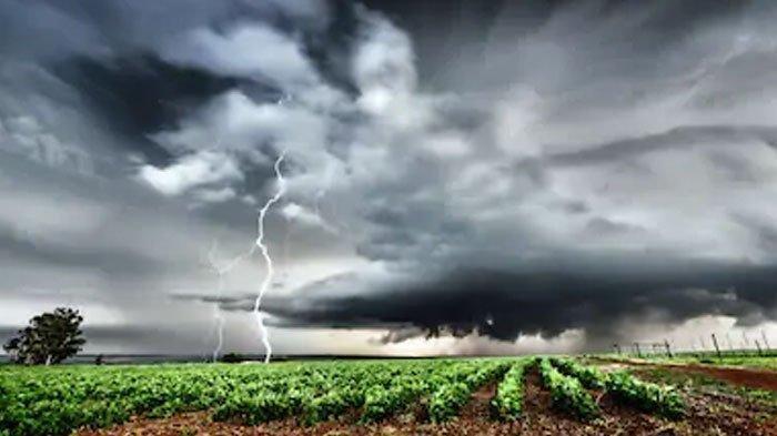 Peringatan Dini Jumat 27 Maret 2020, Wilayah Berpotensi Hujan Lebat Disertai Petir dan Angin Kencang