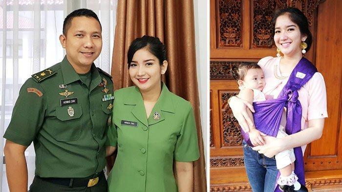 Potret Winda Khair, Lama Tak Terlihat Usai Nikahi Anggota TNI, Makin Cantik