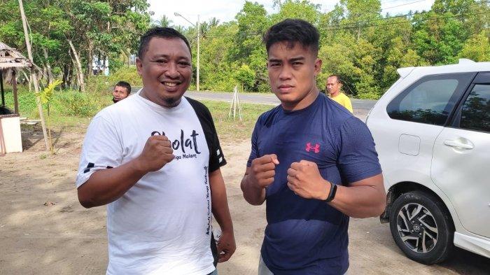 Juara MMA Kelas Welter Weight Asal Sulut Kunjungi Kabupaten Bolmut, Beri Motivasi bagi Para Pemuda