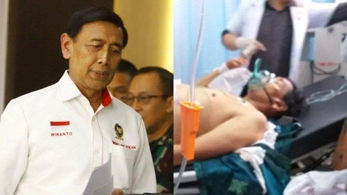 Emak-emak Histeris saat Wiranto Ditusuk Orang Tak Dikenal, Begini Kondisi Menko Polhukam