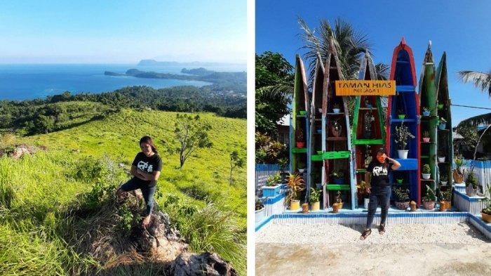 Indahnya Padang Savana di Pulau Bangka Likupang