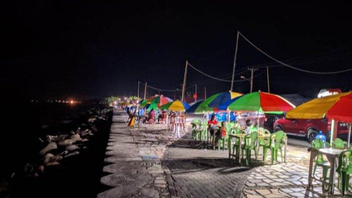 Pasca-Pandemi Covid-19, Wisata Kuliner Boulevard Bolsel Kembali Ramai