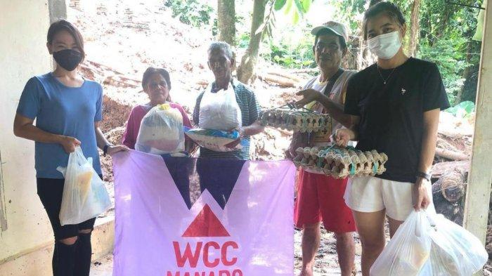 Komunitas Sepeda Perempuan, WCC Bantu Korban Banjir dan Longsor di Manado