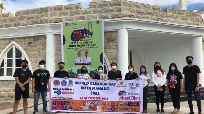 WCD Sulut Gelar Aksi Bersih-bersih, Sarah Dondokambey: Demi Kebersihan Manado