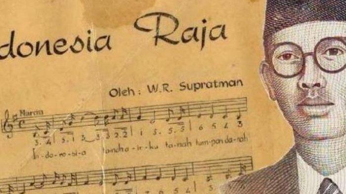 WR Supratman, sang pencipta lagu Indonesia Raya.
