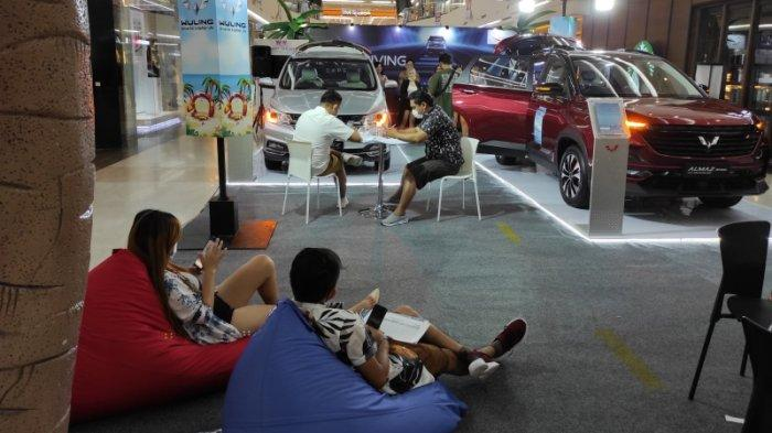 Wuling  Experience Weekend di Manado Town Square yang berlangsung 19-20 Juni 2021 memberikan pengalaman menarik bagi konsumen mobil Wuling.