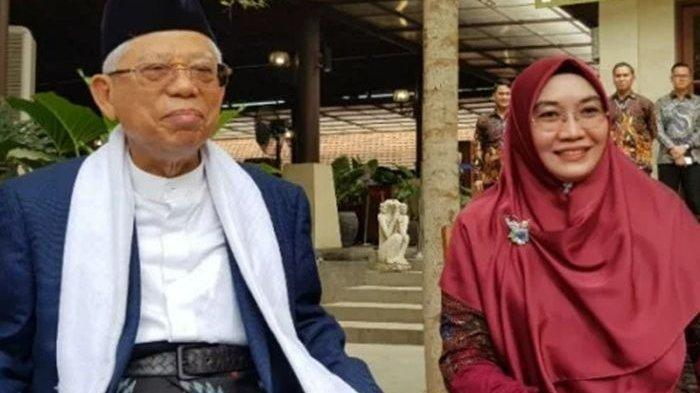 Sosok Wurry Estu Istri Muda Wapres Ma'ruf Amin, Perawat Gigi Puskesmas, Sekarang Tinggal di Istana