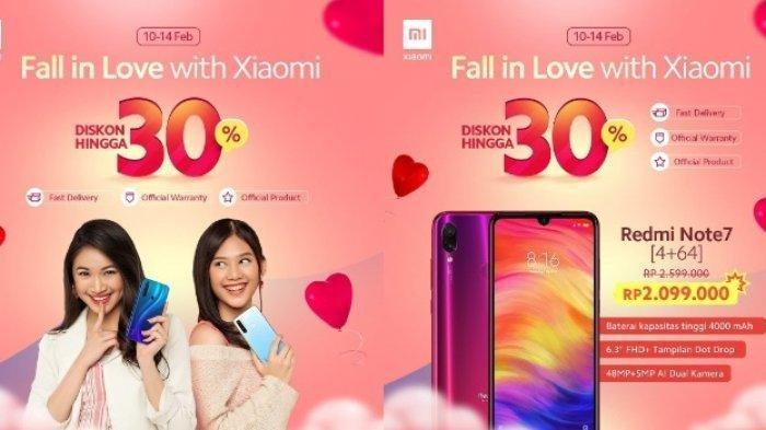 Xiaomi GelarPromo Valentine 2020, Beri Diskon hingga 43 Persen, Berikut Harganya!
