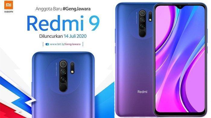 Redmi 9 Resmi Rilis di Indonesia Selasa 14 Juli 2020, Harga Mulai Rp 1,6 Juta, Ini Spesifikasinya