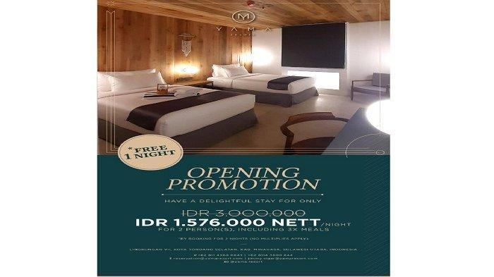 Opening Promotion Yama Resort Tondano