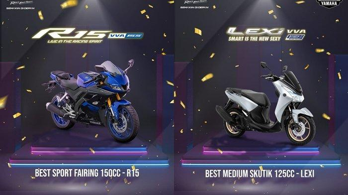 Yamaha kembali menunjukan dominasinya dalam hal perolehan penghargaan di ajang bergengsi Otomotif Award 2021