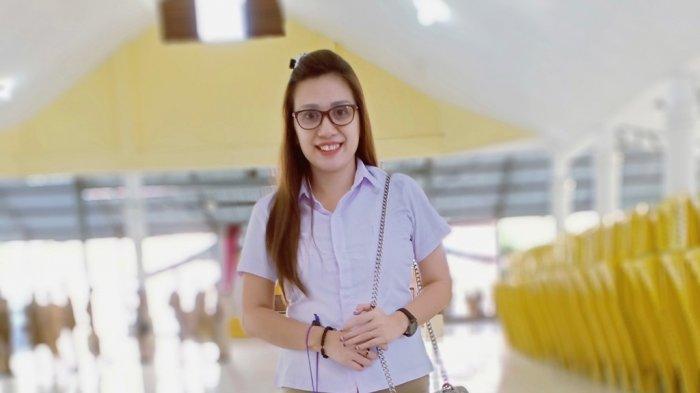 Wanita Cantik Amurang, Yanne Tiwa, Yakin Bisa Lolos Tenaga Honorer Lepas 2021