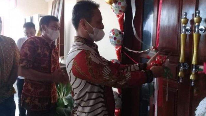 Wabup Bolmong Yanny Tuuk Resmikan Gereja GPSDI Alfa Omega Tombolango