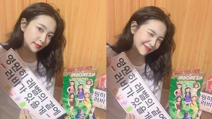 Yeri Red Velvet Pamer Hadiah dari ReVeluv Indonesia, Hadiah Siapa yang Beruntung?