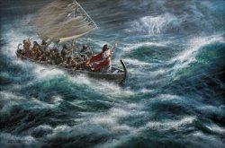 Bacaan Alkitab Angin Ribut Diredakan, Yesus: Mengapa Kamu Begitu Takut dan Tidak Percaya?