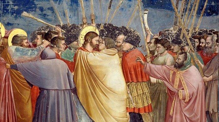 Kisah Yudas Iskariot Hianati Yesus, dan MenyerahkanNya Hanya Dengan Ciuman, Tergiur Kenikmatan Dunia