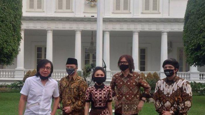 BEGINI Penampilan Raffi Ahmad, Yuni Shara dan Sederet Artis Lainnya saat Diundang Jokowi ke Istana