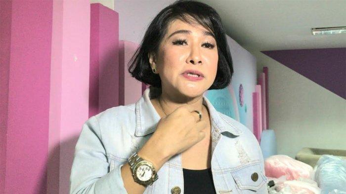 Yurike Prastika ketika ditemui di gedung Trans TV, Rabu (21/10/2020).