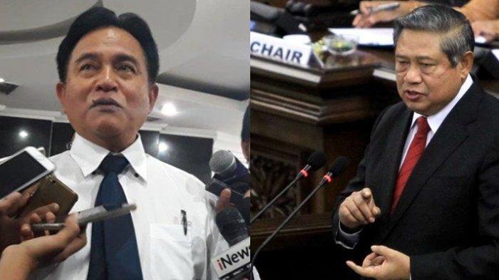 Yusril Ihza Mahendra danSusilo Bambang Yudhoyono