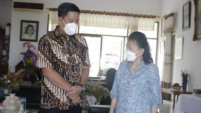 Pdt Yvonne Awuy-Lantu, Ketua Majelis Daerah Gereja Pantekosta di Indonesia (GPdI) Sulut merayakan Hari Ulang Tahun ke -75, Jumat (10/9/2021).