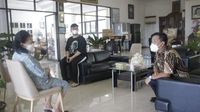 Wagub Steven Kandouw Doakan Panjang Umur dan Sehat Selalu kepada Pdt Yvonne Awuy-Lantu