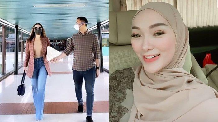 Zaskia Gotik pamer video dengan Sirajuddin Mahmud Sabang, Sabtu (29/5/2021)