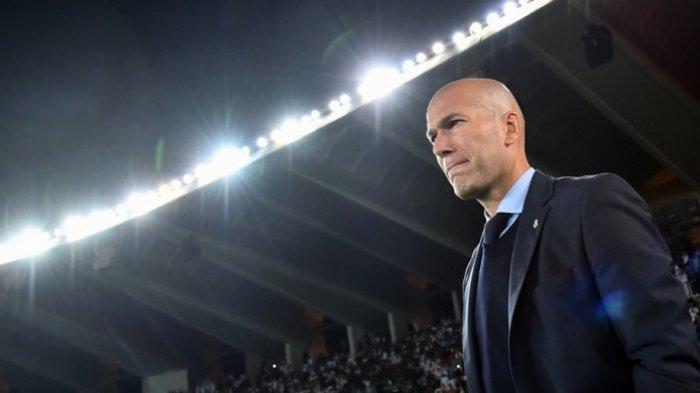 Real Madrid Puncaki Klasemen Meski Raih Kekalahan di Laga ke-150 Zinadine Zidane