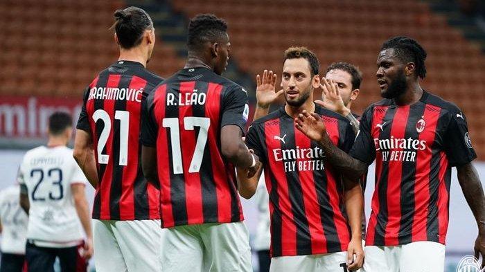 Zlatan Ibrahimovic dan Pemain Lain Ac Milan