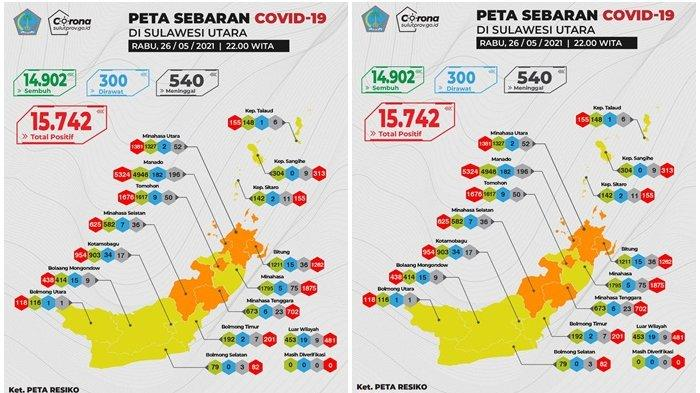 Enam Daerah di Sulut Zona Orange Covid-19, Joune Ganda Minta Ketatkan Protokol Kesehatan