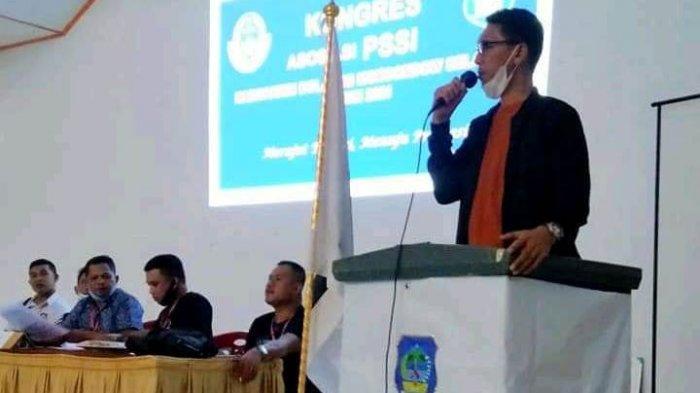 Terpilih Ketua PSSI Bolsel, Zulkarnain Kamaru Siap Gelar Laga Eksebisi Tiap Kecamatan di Bolsel